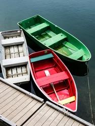 Three Empty Boats