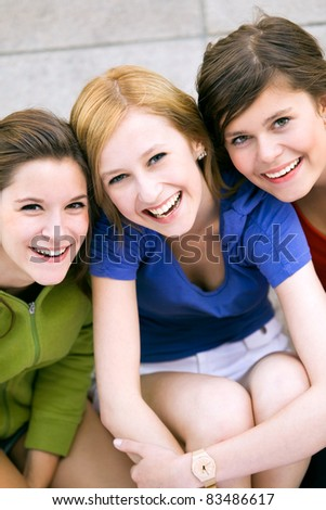Three Female Friends #83486617