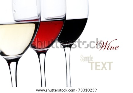 Three glass of wine