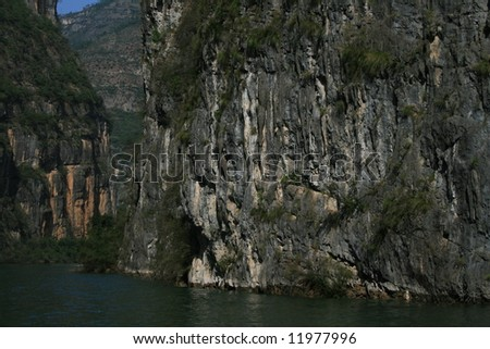 Three Gorges area, Yangtze River