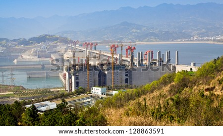 Three Gorges Dam - Sandouping, Yichang, China