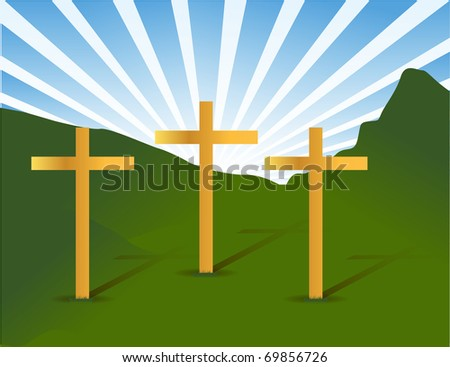 three holy crosses