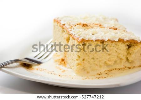 Shutterstock Three milk cake, Traditional dessert of Latin America