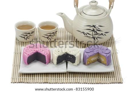 Three mooncake