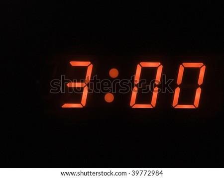three o clock am