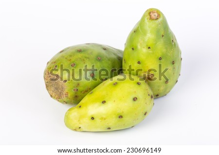 three pears from prickly pear...