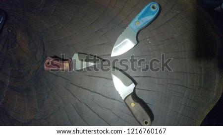 Three Piece Knife Stok fotoğraf ©