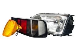 three primary lights used to illuminate the car