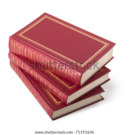 Three red book