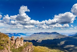 Three Sisters in Blue Mountains in Australia