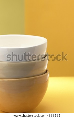 Three stacked Bowls