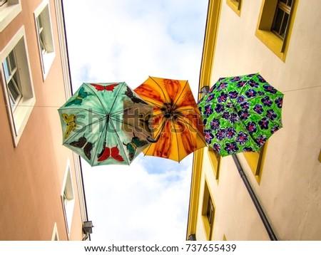 Three umbrellas #737655439