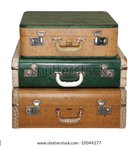 Three Vintage Travel Cases