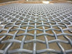 Three ways Screener, Sieving deck, 30x30mm mesh