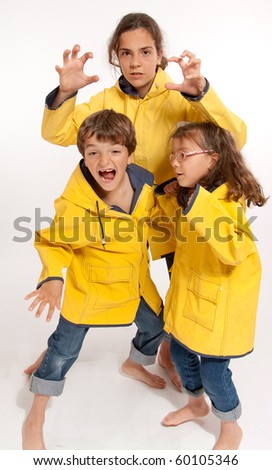 Go Bright with a Yellow Raincoat - Yellow Rain Coat
