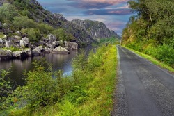 Thrilling rides and breathtaking views along the bbackroads of southern Norway, near Kristiansand