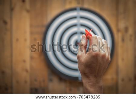 Throw darts