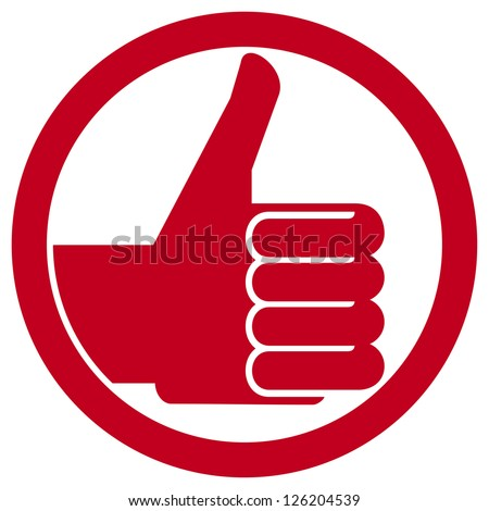 thumbs up symbol (hand showing thumbs up, human hand thumbs up, thumbs up badge, like icon, like symbol)
