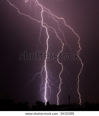 thunderbolt in the night city