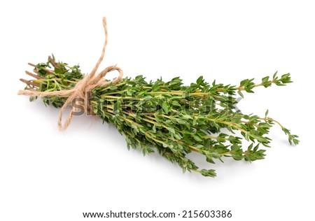 Thyme isolated on white background. Stock photo ©