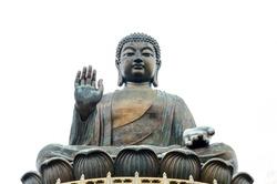 Tian Tan Buddha - The worlds's tallest bronze Buddha in Lantau Island, Hong Kong