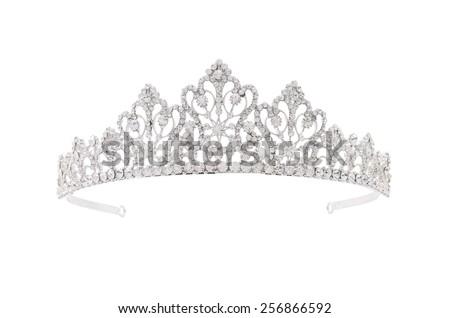 tiara on a white background Сток-фото ©
