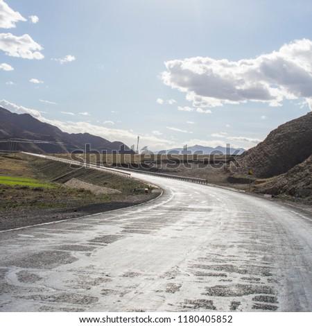Tibet Wilderness road #1180405852