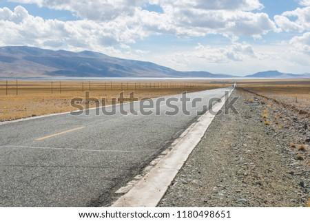 Tibet Wilderness road #1180498651