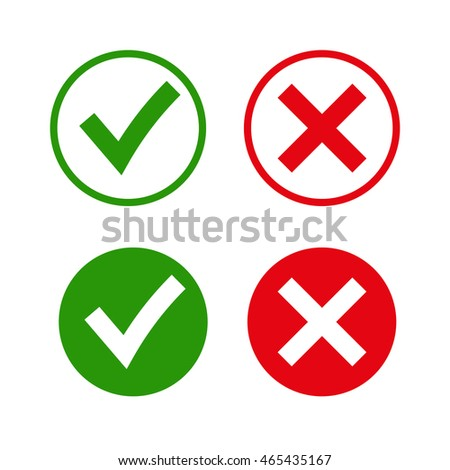 Royalty Free Vector Circular Check Mark Symbols 136944095 Stock