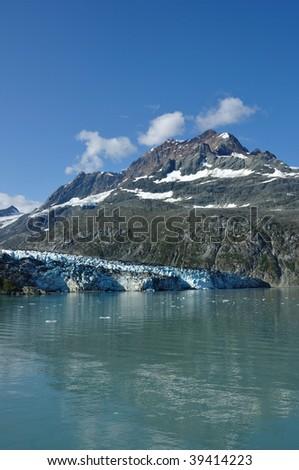 Tidewater Lambplugh Glacier, Glacier Bay National Park, Alaska
