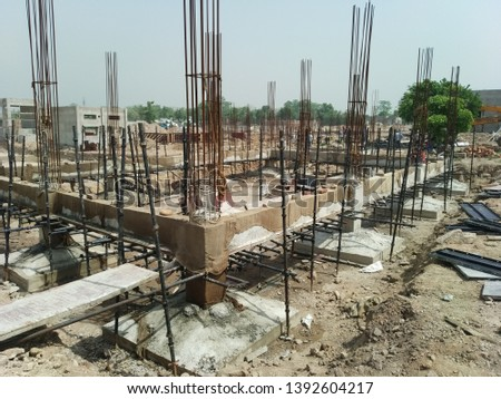 Tie beam . Tie beam is such types of beam , which is attached to the ground level. #1392604217
