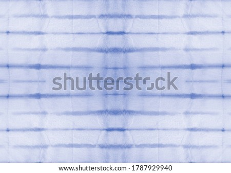 Tie Dye Drawing. Aquarelle Fabric. Tie Dye Drawing Artwork. Shibori Tie-Dye Watercolor Summer Pattern. Grunge Fashion Textile. Indigo Fantasy Dirty Painting. Magic Abstract Dirty Art.