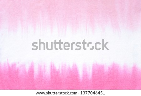 Tie dye fabric texture background. Trendy pattern close up