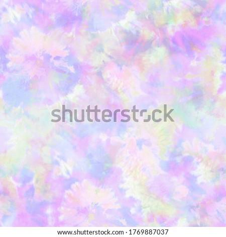 Tie Dye Pastel Blot Print