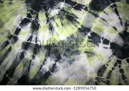 tie-dye pattern on the fabric #1289056750