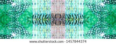 Tie Dye Seamless Pattern. Motley Picture. Magenta, Fair and Indigo Dirty paper. Blue and White Bohemian batik. Hippie Rainbow Aquarelle Panoram With Dark Tones. Tie Dye.