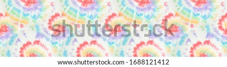 Tie Dye Spiral. Grunge Fantasy Kaleidoscope. Vintage Colors Tie Dye. Bright Colors Dyed Print. Seamless Fashion Wallpaper. Artistic Effect. Magic Acrylic Tie Dye.