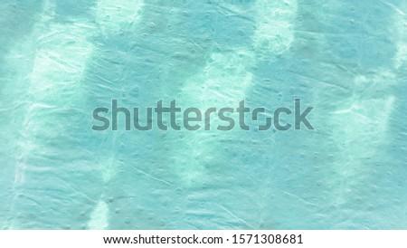 Tie Dye Waves. Abstract Dirty Art Backdrop.  Blue Backdrop.  Green Backdrop. Aqua Trandy Backdrop. Vintage  Gouache Artwork. Tie Dye Waves Background.