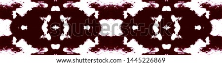 Tie effect. Tie dye background. Colorful ethnic painting. Folk endless background. Boundless trendy painting. Magenta, white tie effect.