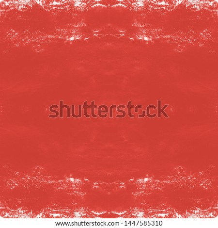 Tie effect. Tie dye background. Japan cotton art. Rustic style. Ethnic cloth decoration. Vintage rustic ornament. Red, white tie effect.