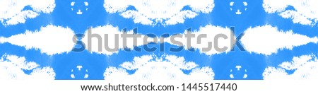 Tie effect. Tie dye background. Psychedelic colors wallpaper. Craft bohemian painting. Line geometric background. Indigo, white, blue tie effect.