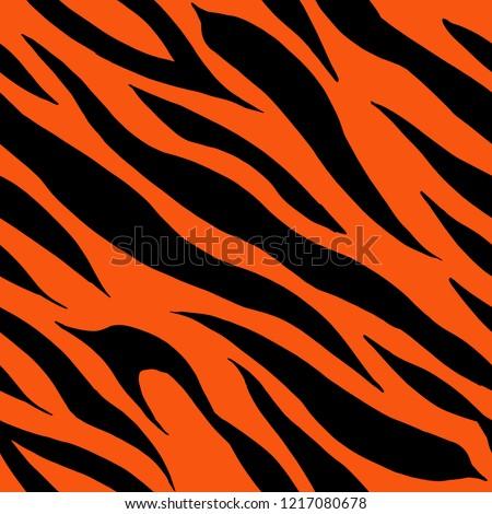 Tiger fus skin teture
