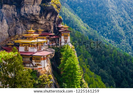 Tiger's Nest Monastery, also known as Paro Takstang, is one of Bhutan's most famous monasteries.