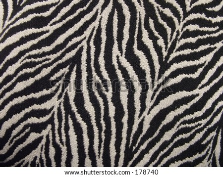 Tiger stripe fabric