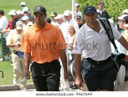 tiger woods at World golf championship, doral, Miami, feb 2007, florida #9467644