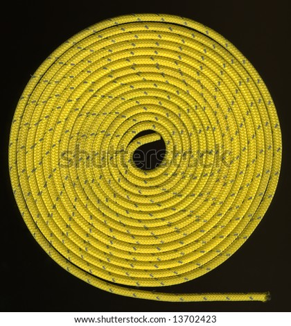 Coils Of Rope. stock photo : tight coils of