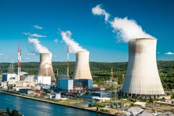 Tihange Nuclear Power Station in Belgium