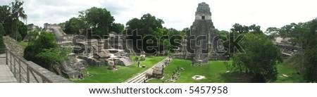 Tikal panoramic view