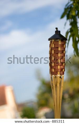 Tiki Torch - stock photo