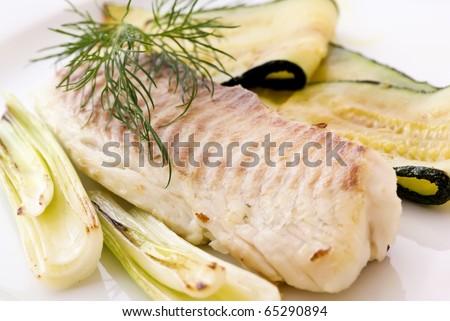 Tilapiini with Vegetable
